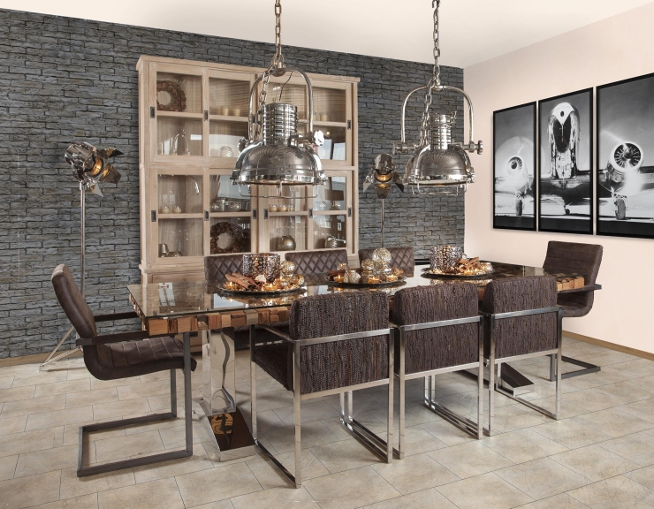 11x verlichting boven de eettafel - INTERIOR JUNKIE