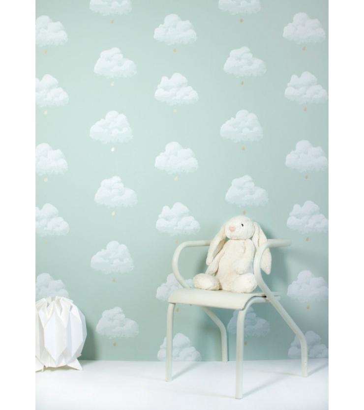 babykamer behang groen – artsmedia, Deco ideeën