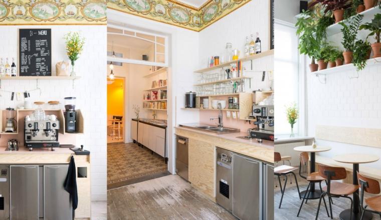 3x koffiebars in antwerpen met cool interieur interior for Interieur antwerpen