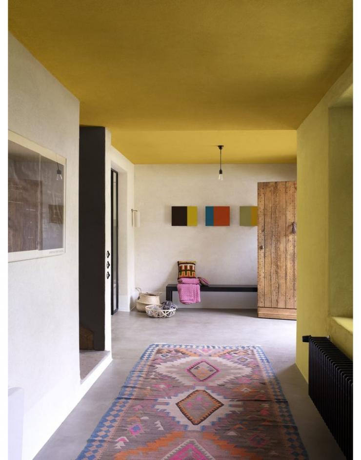 slaapkamer plafond kleur