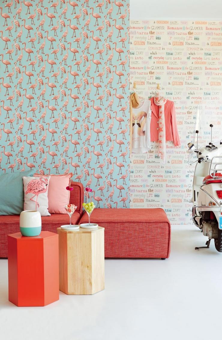 9x zomers behang in huis   interior junkie