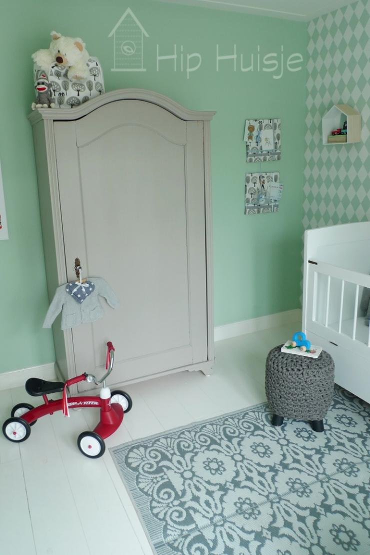 Kamer baby groen ontwerp - Gordijnen voor de kinderkamer ...