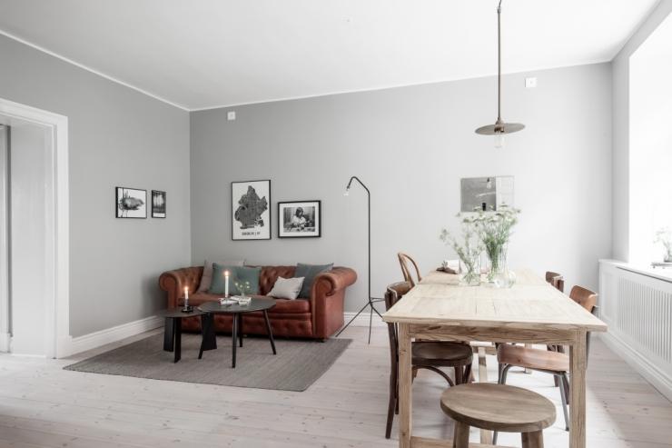 Zweeds appartement vol met beton - INTERIOR JUNKIE