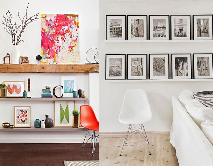 Wandplanken Keuken : Inspiratie voor wandplanken in huis interior ...