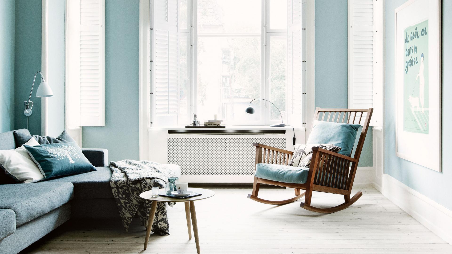 Deense Design Keukens : Deense woning vol met zachtblauwe tinten ...