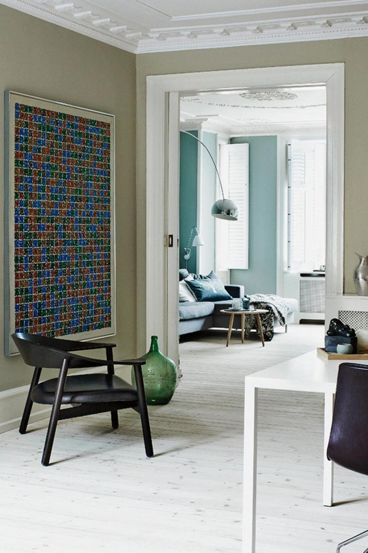 Deense woning vol met zachtblauwe tinten   interior junkie