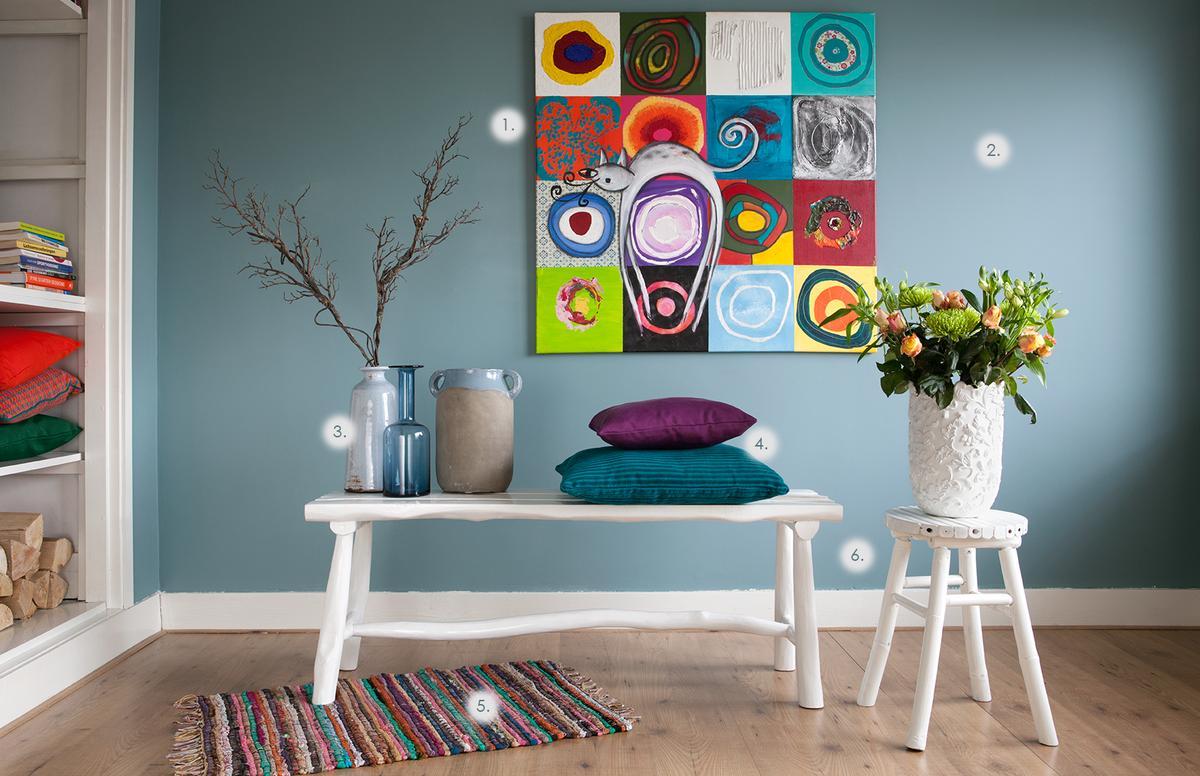12x tijd voor kleur in huis - INTERIOR JUNKIE