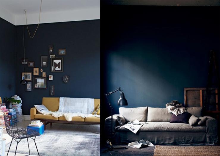 Muurverf woonkamer taupe - Deco woonkamer aan de muur wit ...