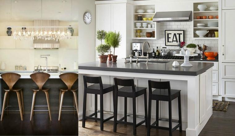 13x barkrukken in de keuken - INTERIOR JUNKIE