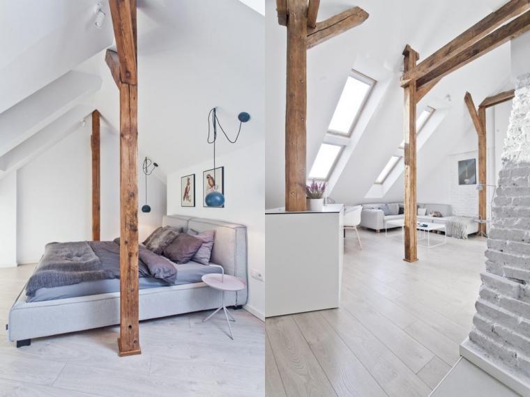 Werken met houten balken in huis - INTERIOR JUNKIE