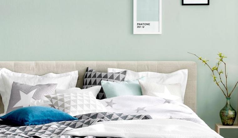 slaapkamer mintgroen – artsmedia, Deco ideeën