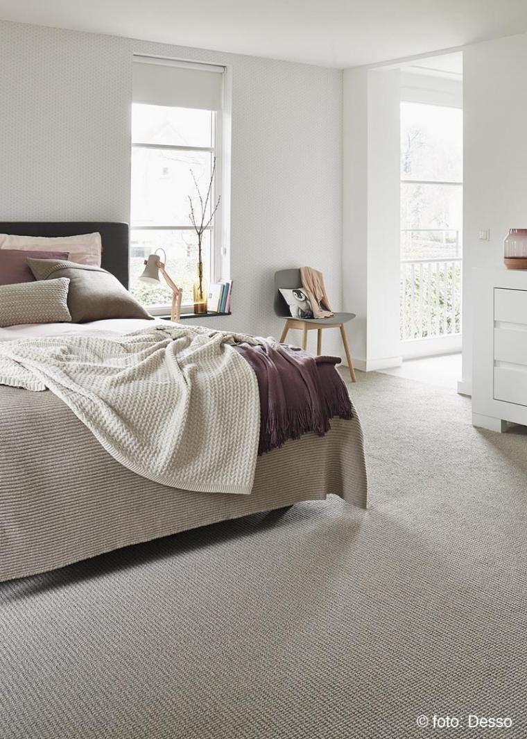 Waarom vloerbedekking in de slaapkamer een must is