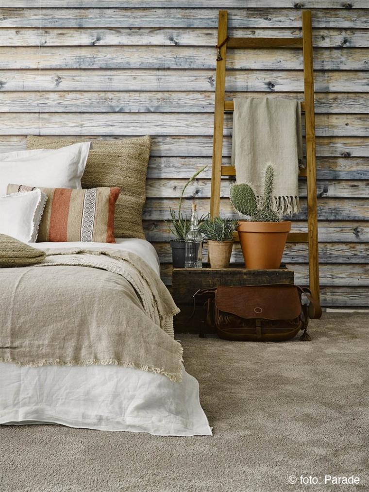 Relaxte Ibiza style waarbij het Touch tapijt voelt als een zandstrand.
