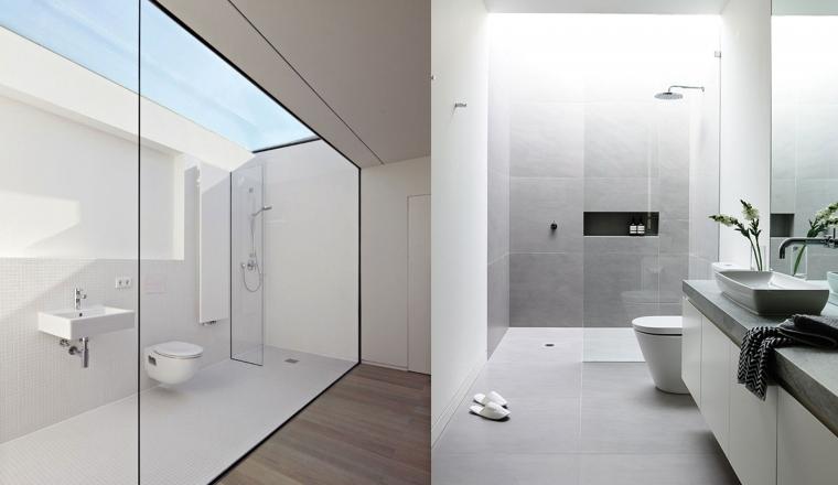 Badkamer Grijs Wit : Badkamer grijs wit oplossingen