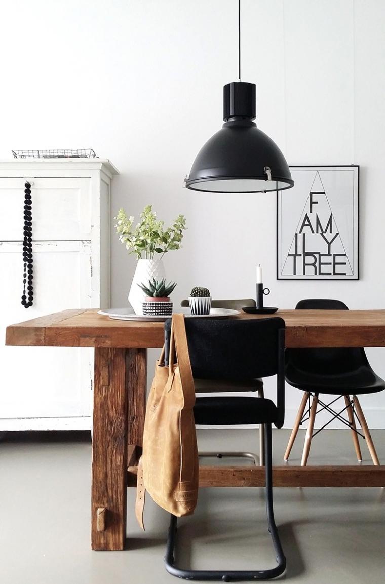 Pronken met industriële lampen in huis   interior junkie