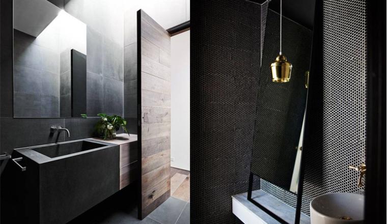Donkere badkamer hotel beste inspiratie voor huis ontwerp - Object design eigentijds ontwerp ...