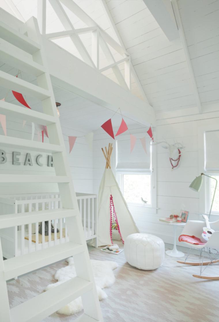 Baby kamer idee brocante for Kamer voor een klein meisje