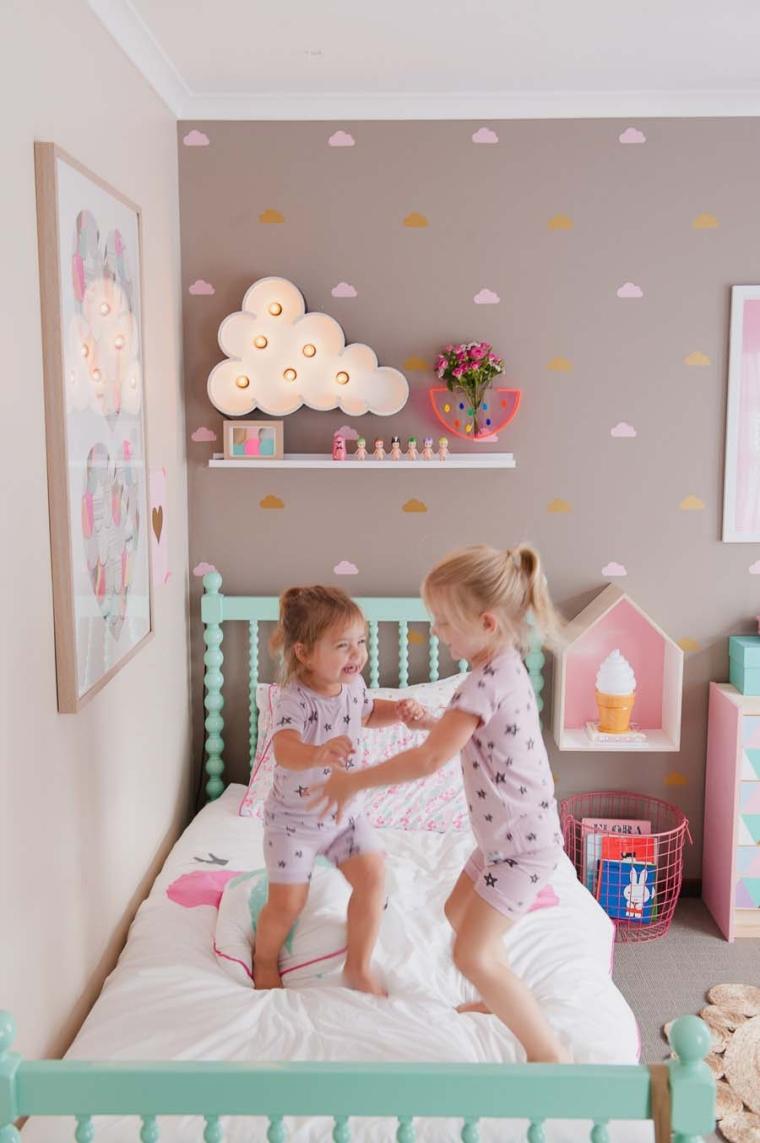 Idee kamer baby modern - Gordijn voor baby kamer ...