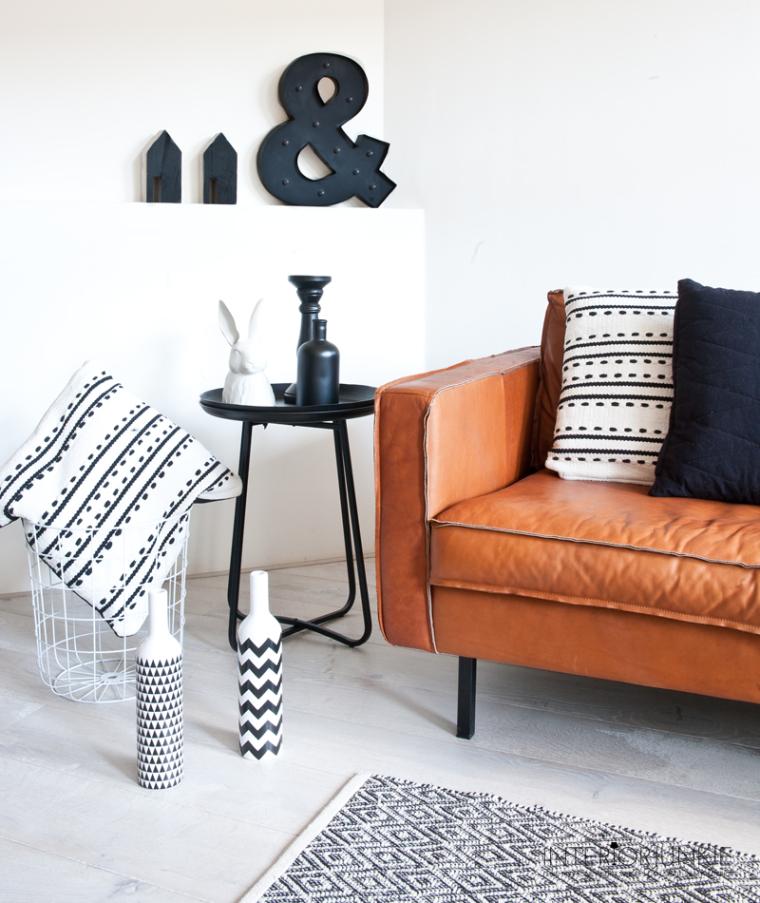 Interieur Ideeen Woonkamer Zwart Wit : Woonkamer zwart wit hout huis