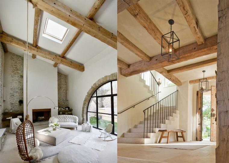 Deco oud houten balken inspiratie het beste interieur - Modern deco in oud huis ...
