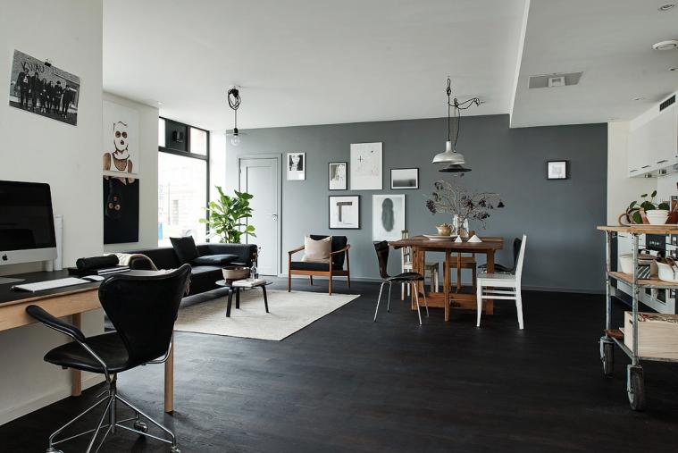 Interieur Ideeen Woonkamer Zwart Wit: Design woonkamer inrichten tien ...