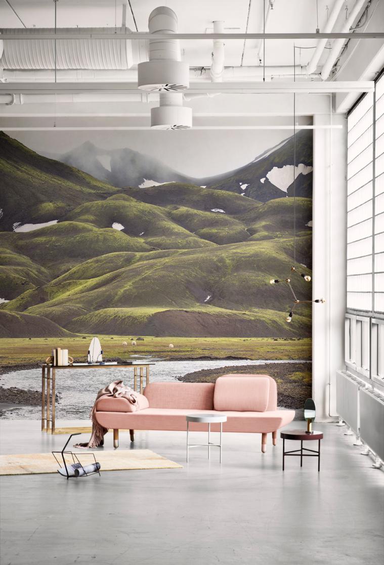 10x groene wallpapers om mee te pronken   interior junkie