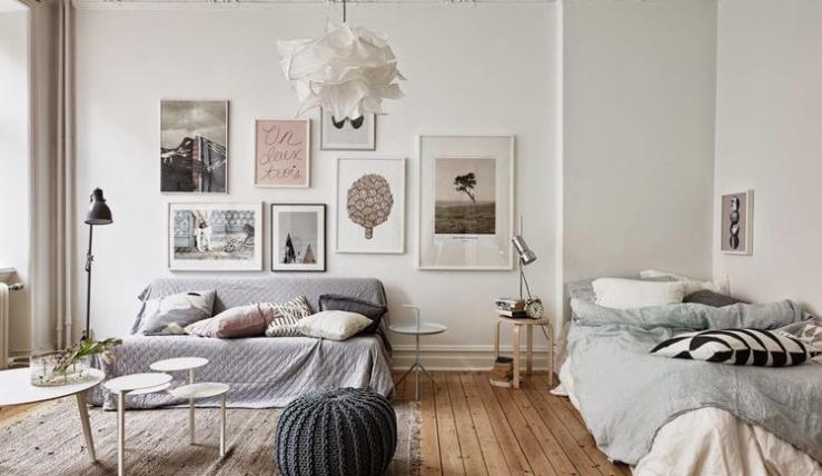 Klein huis inrichten bekijk deze handige tips interior junkie - Tv staan kleine ruimte ...