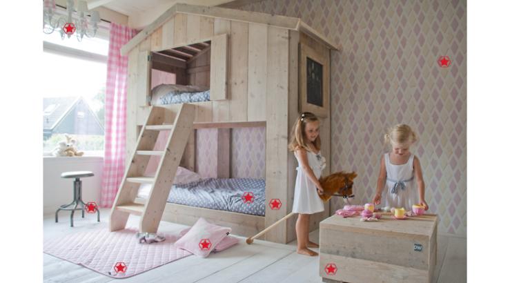 nostalgie! een stapelbed in de kinderkamer - interior junkie, Deco ideeën