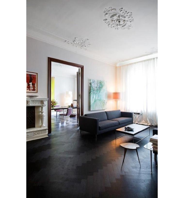 Interieur Ideeen Woonkamer Donkere Vloer ~ Beste Ideen Over Huis en ...