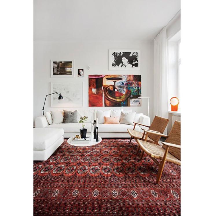 10x gekleurde vloerkleden in huis - INTERIOR JUNKIE