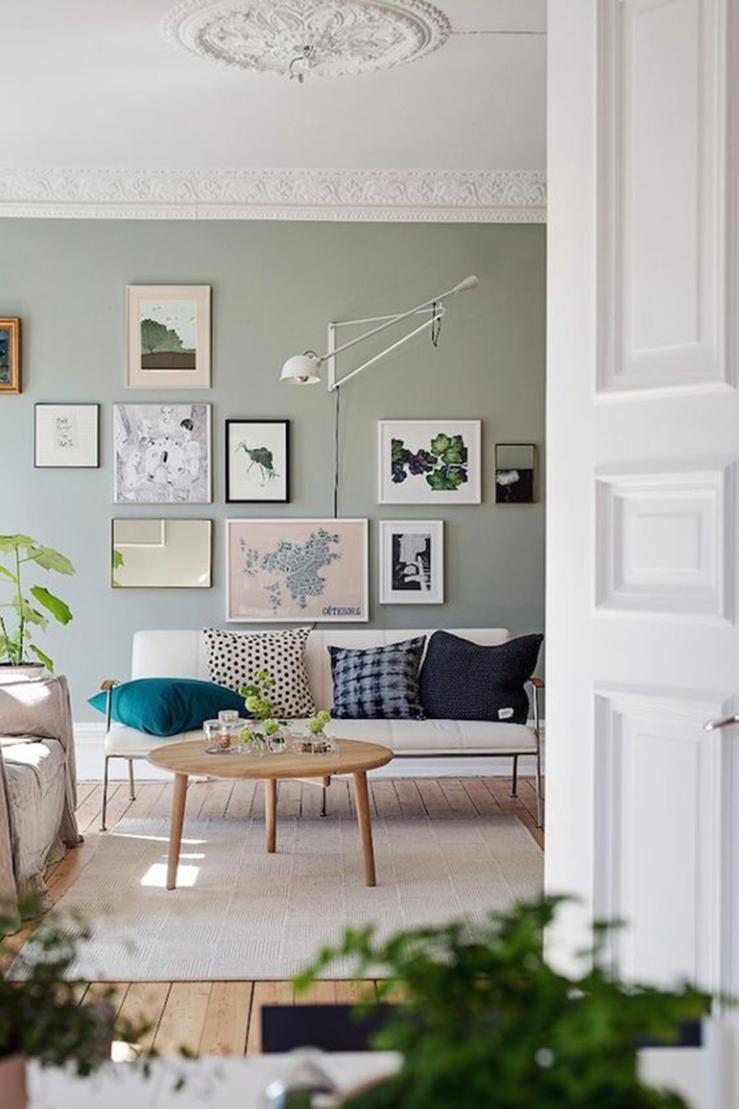 Kleur bekennen met groen in huis - INTERIOR JUNKIE