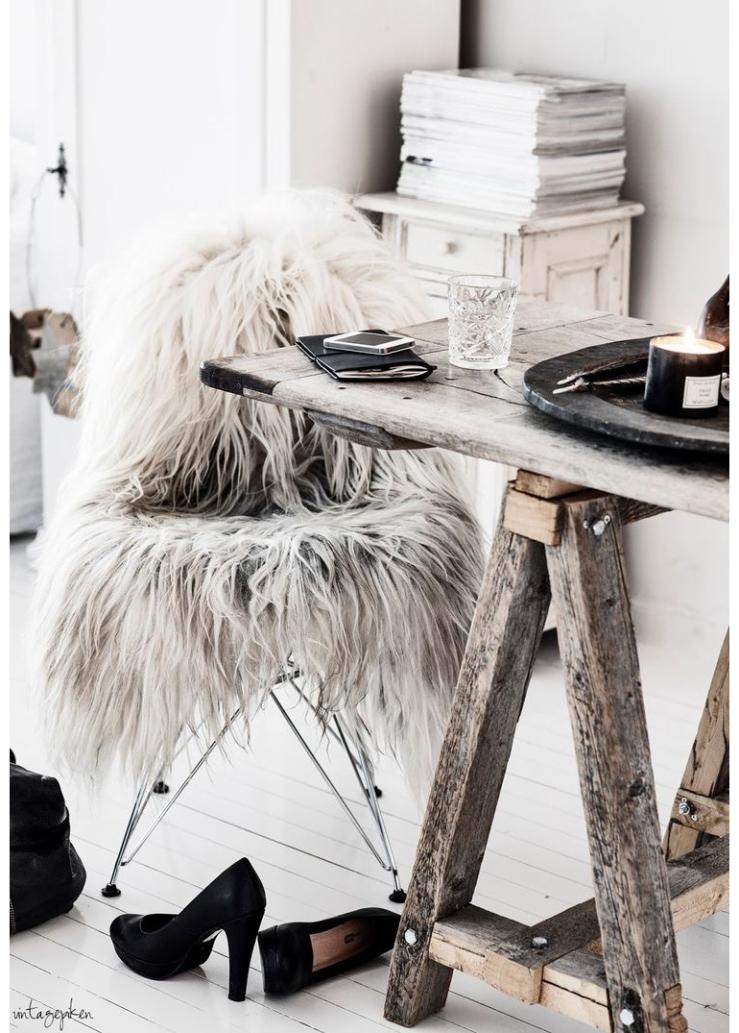 O zo winterproof: het schapenvachtje in huis