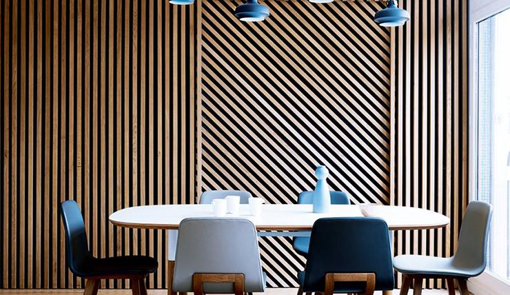 Hout modern woonkamer - Interieur decoratie modern hout ...