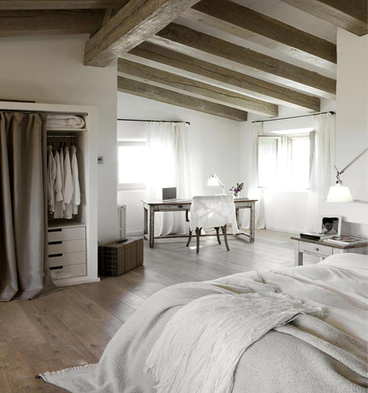 mooi voor in huis: een plafond met houten balken - interior junkie, Deco ideeën