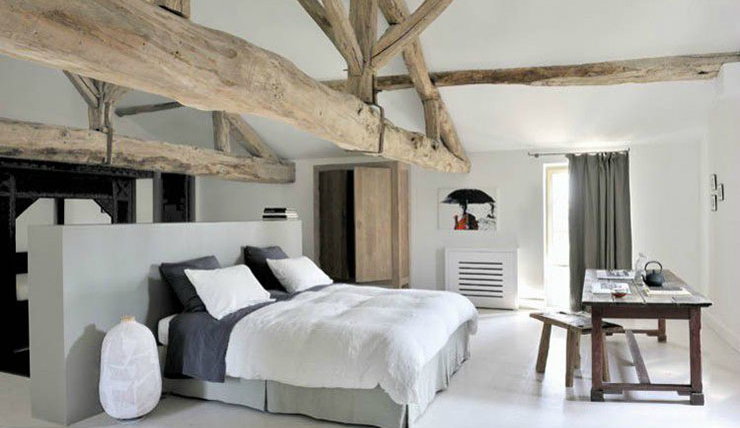Deco oud houten balken gehoor geven aan uw huis
