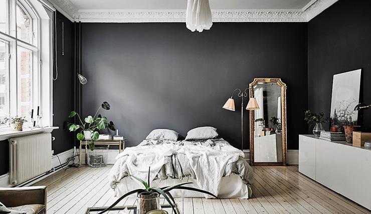 Keuken donkere muur for Interior junkie