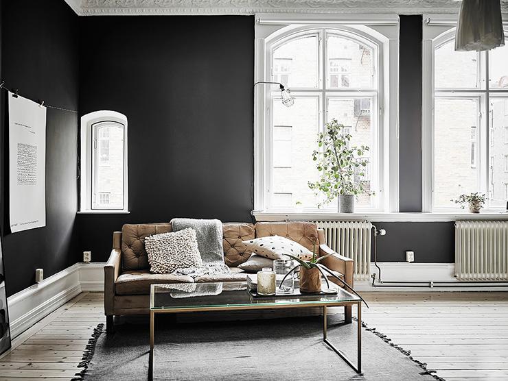 Donkere Muren Woonkamer: Uw woonkamer rustgevend inrichten doet u met ...