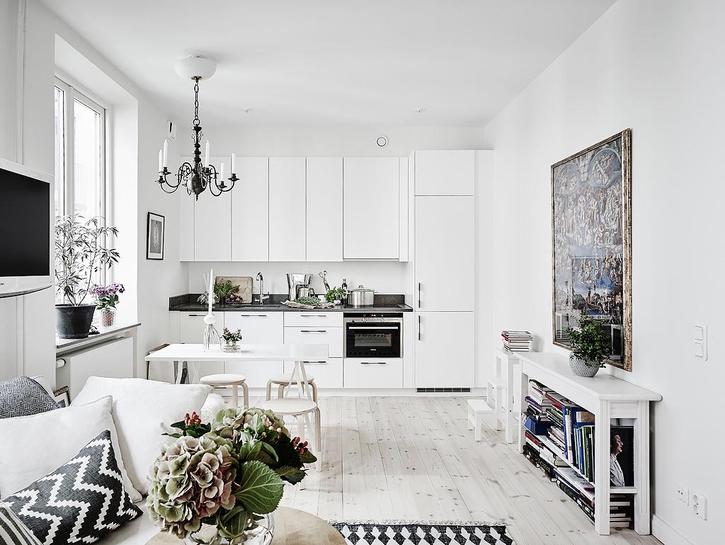 Compact wonen in een spierwit stulpje van 35m2   interior junkie