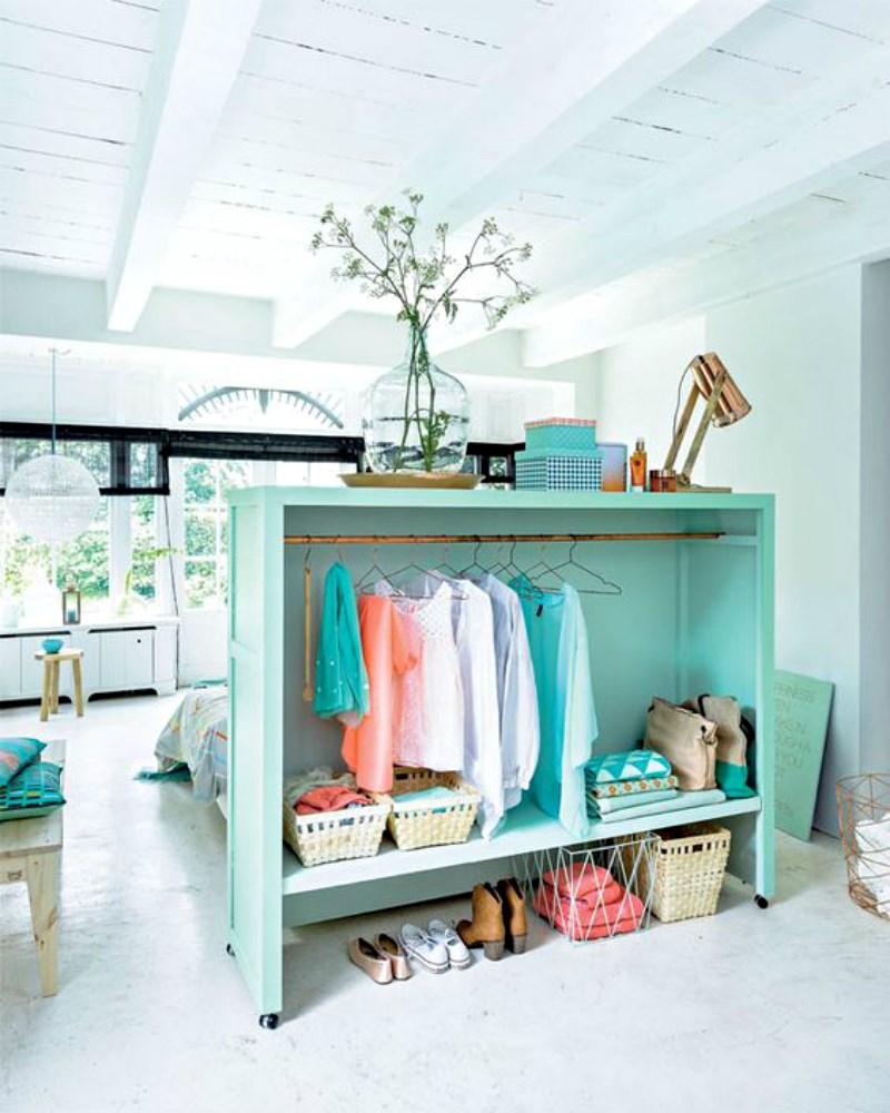 Ideaal voor kleine huizen en studentenkamers; room dividers ...