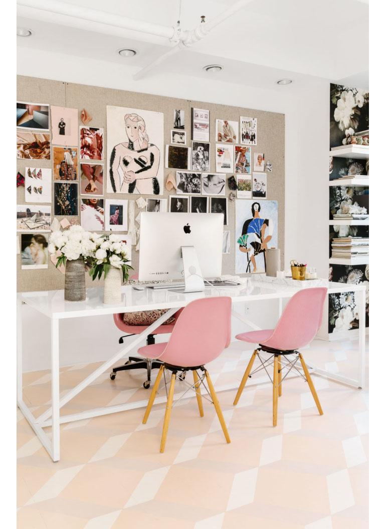 Hoe fijn is het werken op dit stunning kantoor?! - INTERIOR JUNKIE