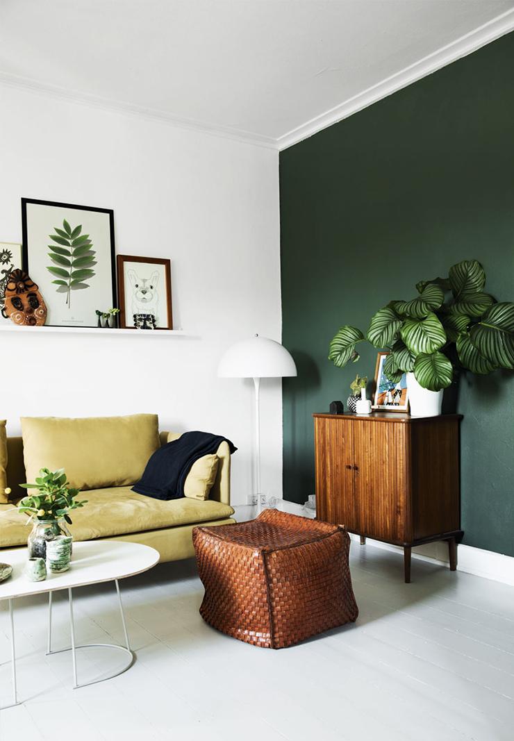 Thuis in het huis van iemand met groene vingers - INTERIOR JUNKIE