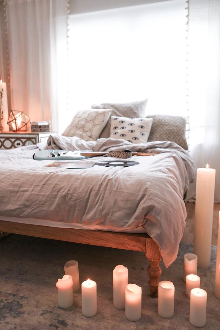 Retro vintage slaapkamer om van te dromen   interior junkie