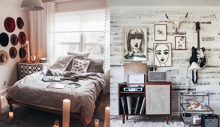 retro vintage slaapkamer om van te dromen - interior junkie, Deco ideeën