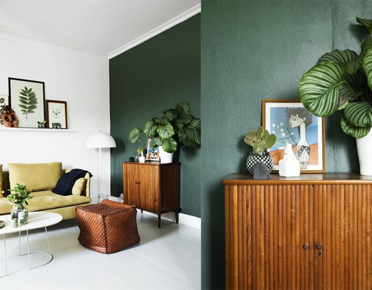 Woonkamer Lime Groen: Blauwtinten woonkamer binnenkijken styling ...