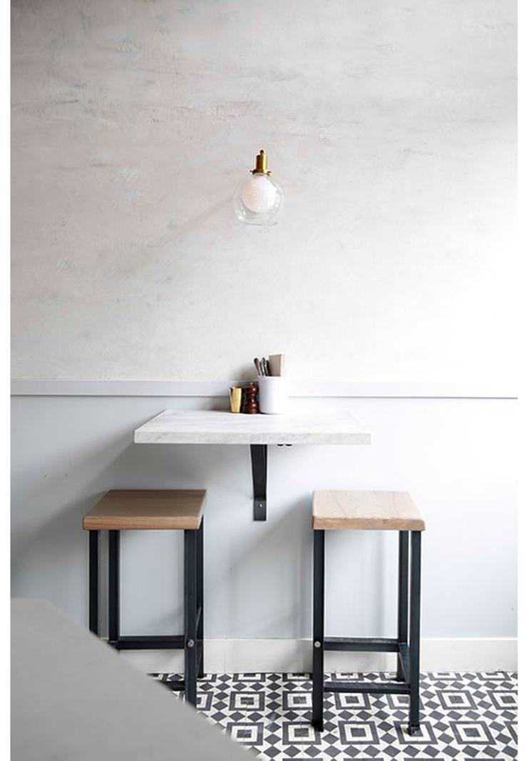 Leuk voor in de keuken: een bartafel - INTERIOR JUNKIE
