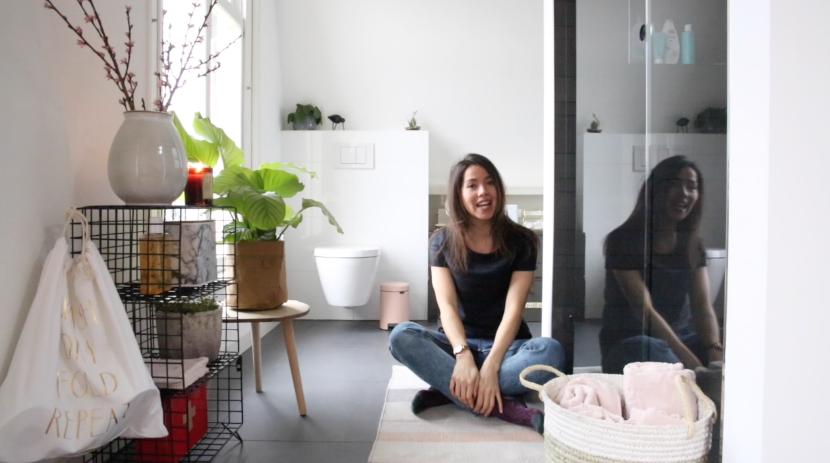 Video zo maak ik mijn badkamer een stuk gezelliger interior junkie - Maak een badkamer in m ...