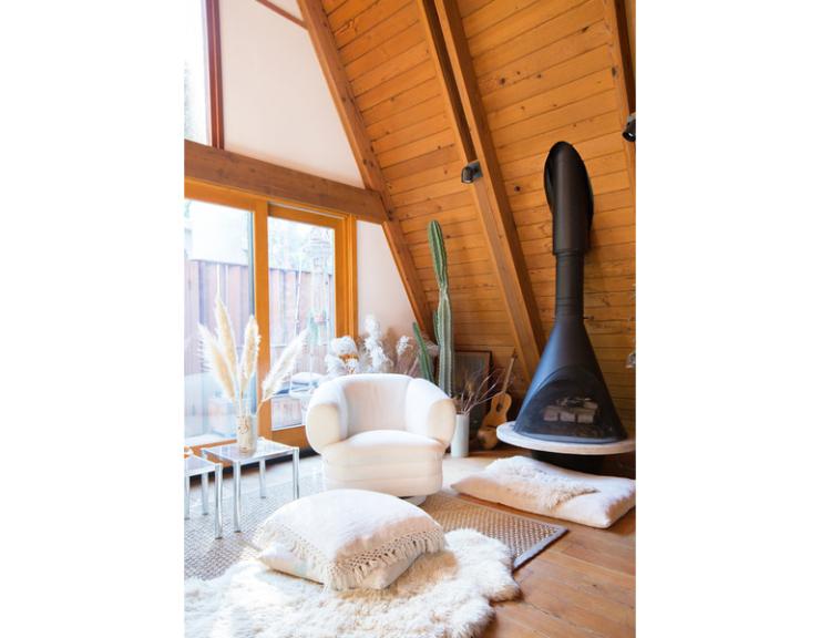 Binnenkijken in een houten huis om van te snoepen