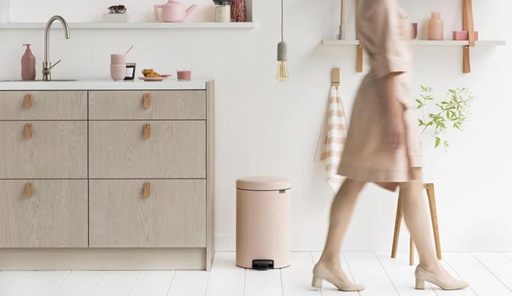 Deze duurzame prullenbak misstaat zeker niet in je keuken