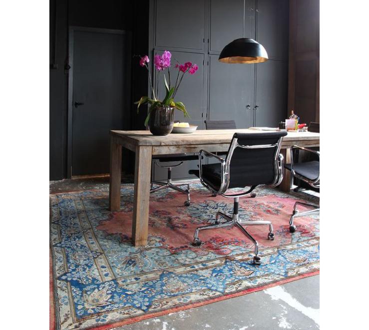 Om geen genoeg van te krijgen: een Perzisch tapijt