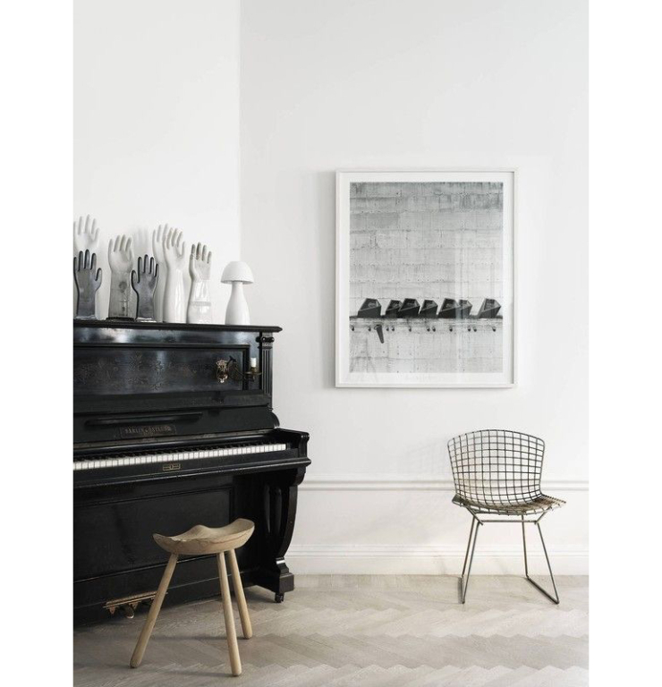 De piano in huis als meubelstuk. Net zo mooi!